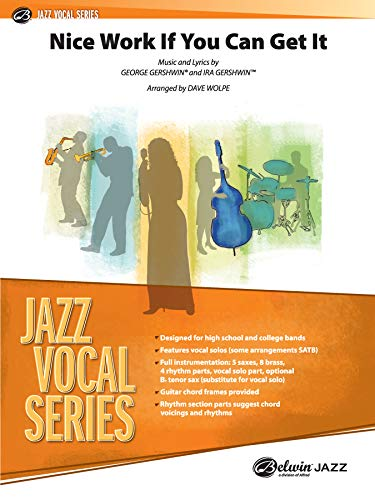 Nice Work If You Can Get It (Jazz Vocal): Schaum Pubns