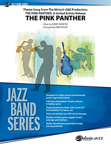 9780757935015: The Pink Panther (Jazz Band)