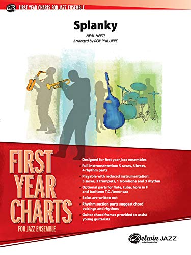9780757935138: Splanky (First Year Charts for Jazz Ensemble)
