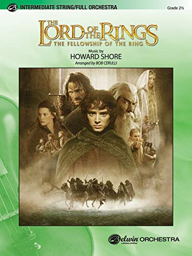 9780757935916: The Lord of the Rings: The Fellowship of the Ring (Pop Intermediate Full Orchestra)