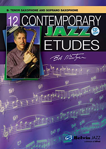 9780757936548: 12 Contemporary Jazz Etudes: B-flat Tenor Saxophone, Book & CD