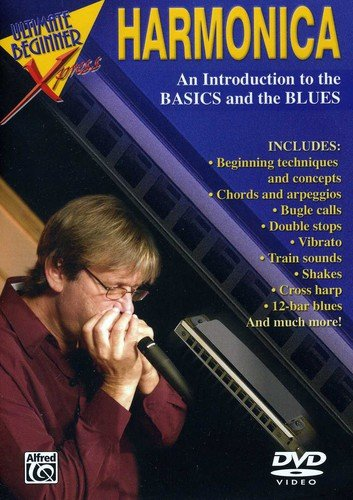 9780757936852: Ultimate Beginner Xpress -- Harmonica: An introduction to the basics and the blues. (DVD)