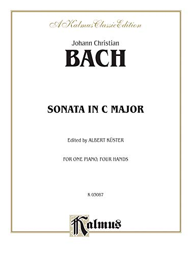 Sonata in C Major (Kalmus Edition): Bach