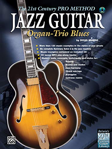 9780757937279: Jazz Guitar: Organ-Trio Blues, The 21st Century Pro Method