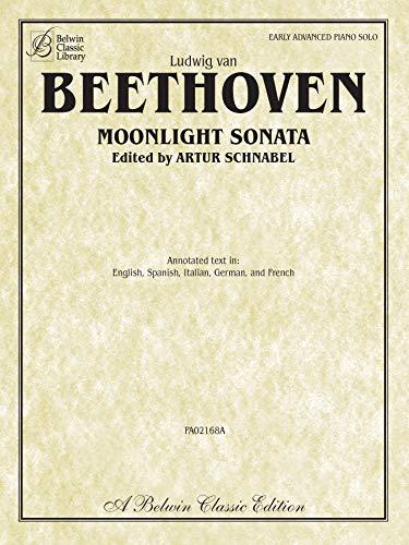 9780757937514: Moonlight Sonata (Sonata No. 14 in C-sharp Minor, Op. 27, No. 2) (Belwin Classic Library)