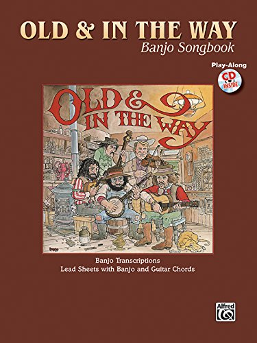 9780757938177: Jerry Garcia -- Old & In the Way Banjo Songbook: Lead Sheet/Banjo TAB (Book & CD)
