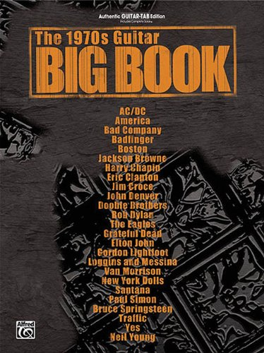 9780757939730: The 1970s Guitar Big Book: Authentic Guitar-tab