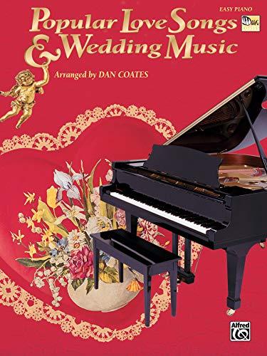 9780757939860: Popular Love Songs & Wedding Music (Easy Piano)