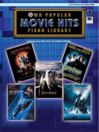 9780757939891: Popular Piano Library Movie Hits: Level 2, Book, CD & General MIDI Disk