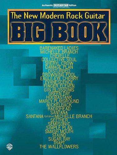 The New Modern Rock Guitar Big Book: Guitar Big Book Series: Stang, Aaron; Alfred Publishing