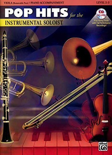 Pop Hits for the Instrumental Soloist for Strings: Viola, Book & CD: Alfred Music