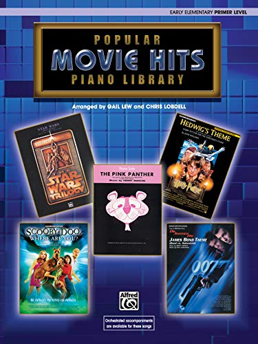 Popular Piano Library Movie Hits: Primer Level (0757940978) by Gail Lew; Chris Lobdell