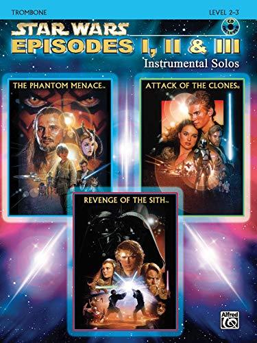 9780757941559: Star Wars Episodes I, II & III Instrumental Solos: Trombone, Book & CD