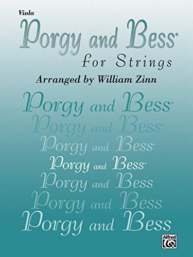 9780757977404: Porgy and Bess for Strings: Viola