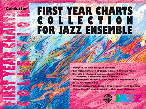 9780757977695: First Year Charts Collection for Jazz Ensemble: Conductor (Book & CD)
