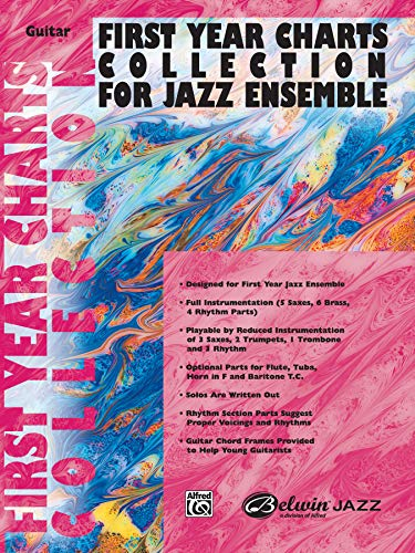 9780757977824: First Year Charts Collection for Jazz Ensemble: Guitar