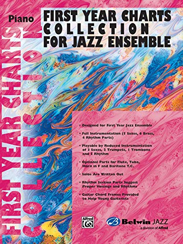 9780757977855: First Year Charts Collection for Jazz Ensemble: Piano