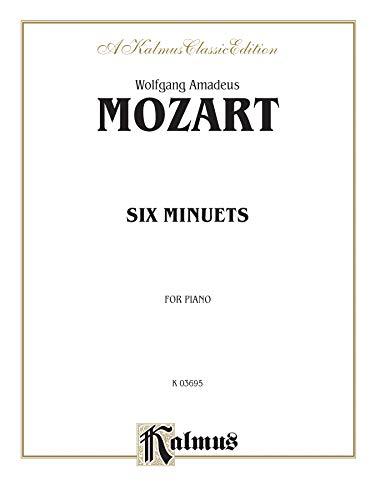 9780757977947: Six Minuets (Kalmus Edition)
