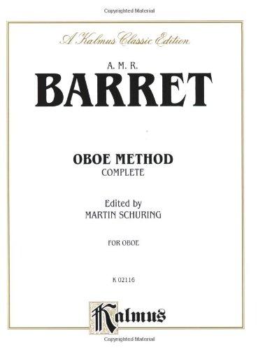 9780757977961: Oboe Method (Complete) (Kalmus Edition)
