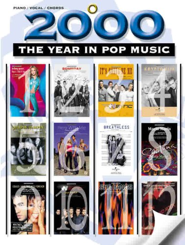 9780757978340: 2000 -- The Year in Pop Music: Piano/Vocal/Chords
