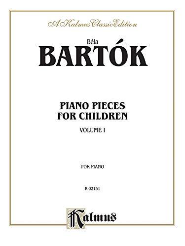 9780757978944: Bela Bartok Piano Pieces for Children: A Kalmus Classic Edition: 1