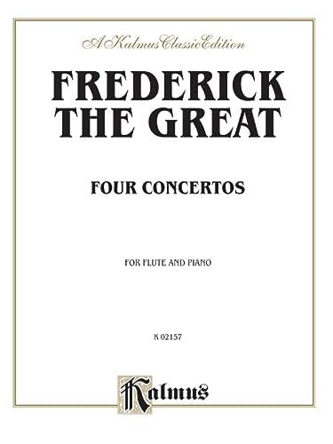 9780757979149: Four Concertos for Flute and Piano (Kalmus Edition)