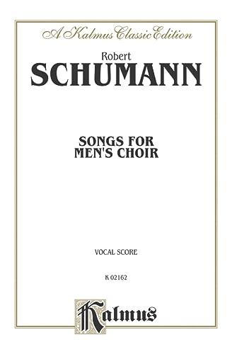9780757979453: Songs for Men's Choir: TTBB (German Language Edition) (Kalmus Edition) (German Edition)