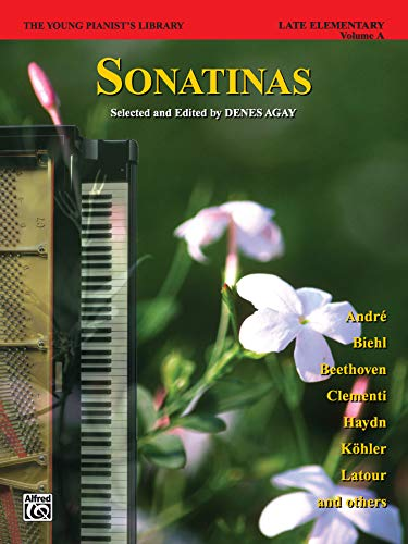 9780757980015: Sonatinas: Late Elementary, Volume A (The Young Pianist's Library)