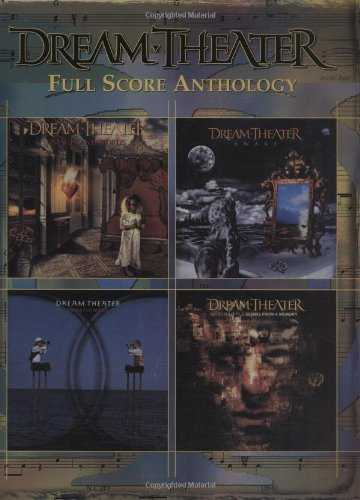 9780757981388: Dream Theater - Full Score Anthology Guitar Tab Songbook