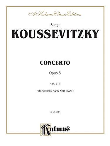 9780757981845: Concerto, Op. 3 (Kalmus Edition)