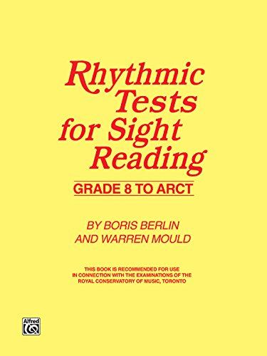 9780757982101: Rhythmic Tests for Sight Reading