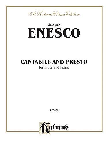 9780757982439: Cantabile and Presto: Part(s) (Kalmus Edition)