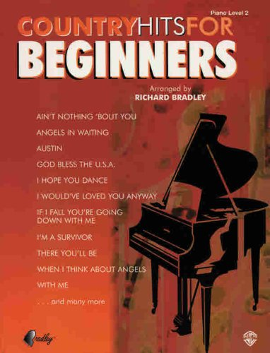 Country Hits for Beginners (0757982824) by Richard Bradley