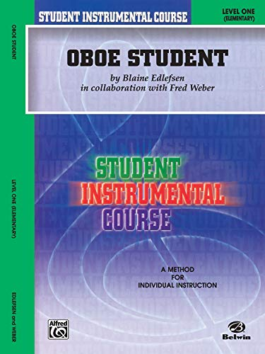 9780757982897: Student Instrumental Course Oboe Student: Level I