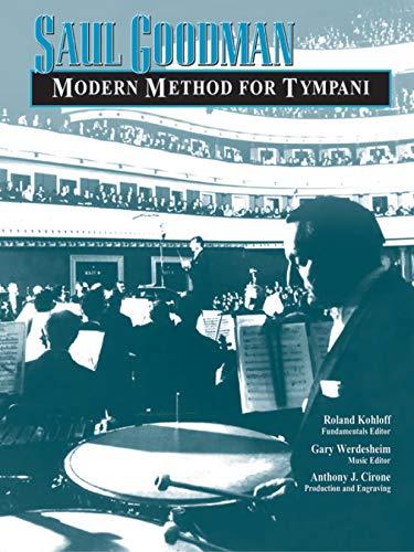 9780757991004: Modern Method for Tympani