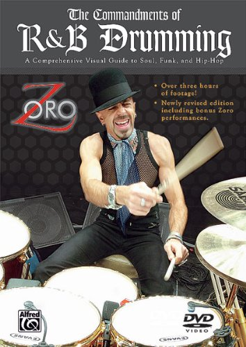 9780757991738: The Commandments of R&B Drumming: A Comprehensive Visual Guide to Soul, Funk, and Hip-Hop