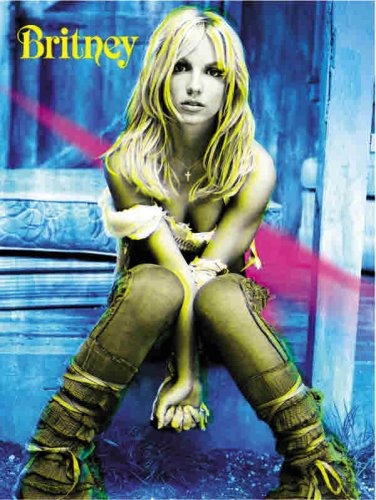 9780757991806: Britney Spears -- Britney: Piano/Vocal/Chords (Includes Souvenir Poster) (Book & Poster)