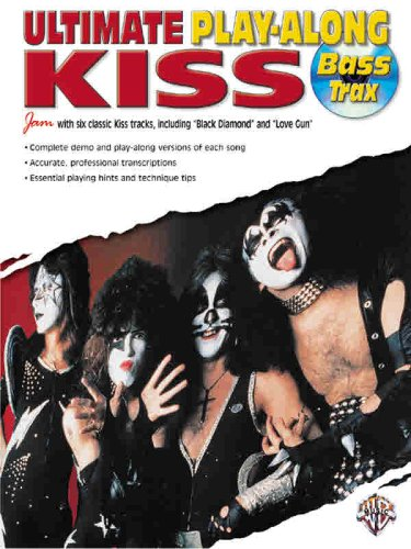 9780757991813: Ultimate Play-along Bass Trax Kiss
