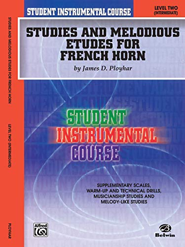 9780757991851: Student Instrumental Course Studies and Melodious Etudes for French Horn: Level II
