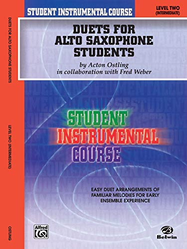 9780757991882: Student Instrumental Course Duets for Alto Saxophone Students: Level II