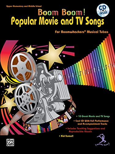 9780757991943: Popular Movie and TV Songs for Boomwhackers Musical Tubes +CD