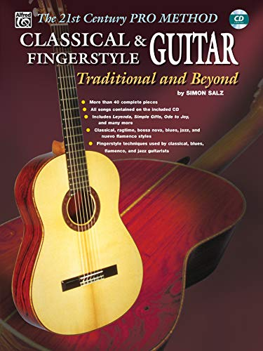 9780757992315: Classical & Fingerstyle Guitar Bk&CD (The 21st Century Pro Method)