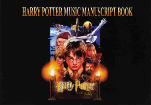 9780757992759: Harry Potter Music Manuscript Book: 24 Pages, 6 Staves