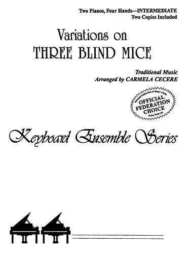 9780757992810: Variations on Three Blind Mice: Sheet (Keyboard Ensemble Series)