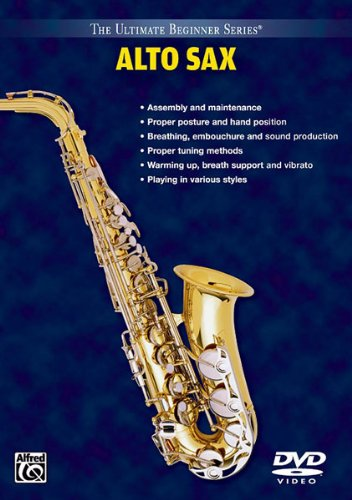 9780757992902: Ultimate Beginner Alto Saxophone, Vol 1 & 2: DVD [Alemania]
