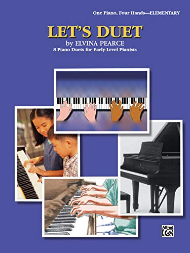 9780757993053: Let's Duet: 8 Piano Duets for Early-Level Pianists (WB Duet Library)