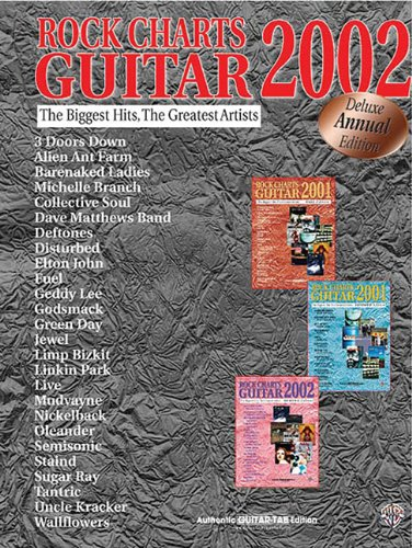 9780757993480: Rock Charts Guitar 2002: Deluxe Annual Edition