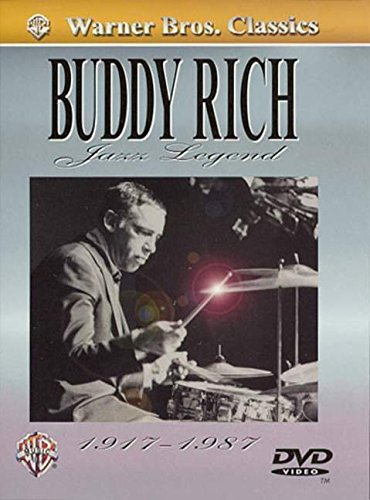 9780757994241: Buddy Rich -- Jazz Legend (1917-1987): Transcriptions and Analysis of the World's Greatest Drummer, DVD [Alemania]