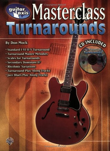 9780757994289: Guitar Axis Turnarounds Master Class (Guitar Axis Masterclass)
