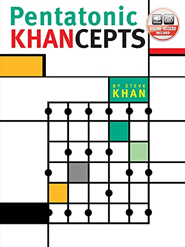 9780757994470: Pentatonic Khancepts Guitare+CD